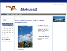 Tablet Preview of albatross-air.at